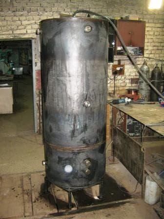 Теплоаккумулятор система жидкостного отопления